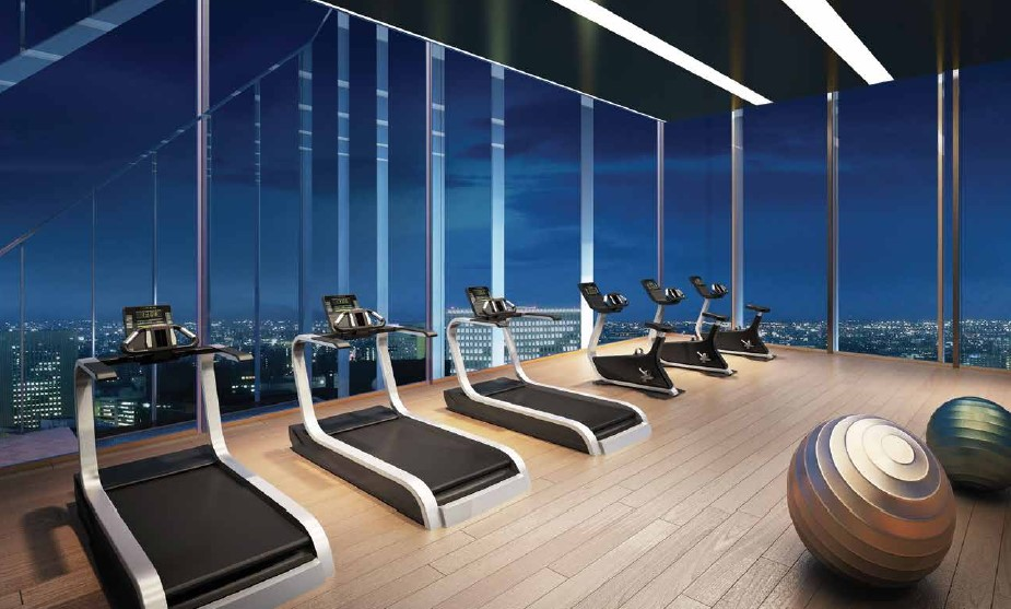 Ariva Hyde 11 Serviced Residences - Gym Perspective