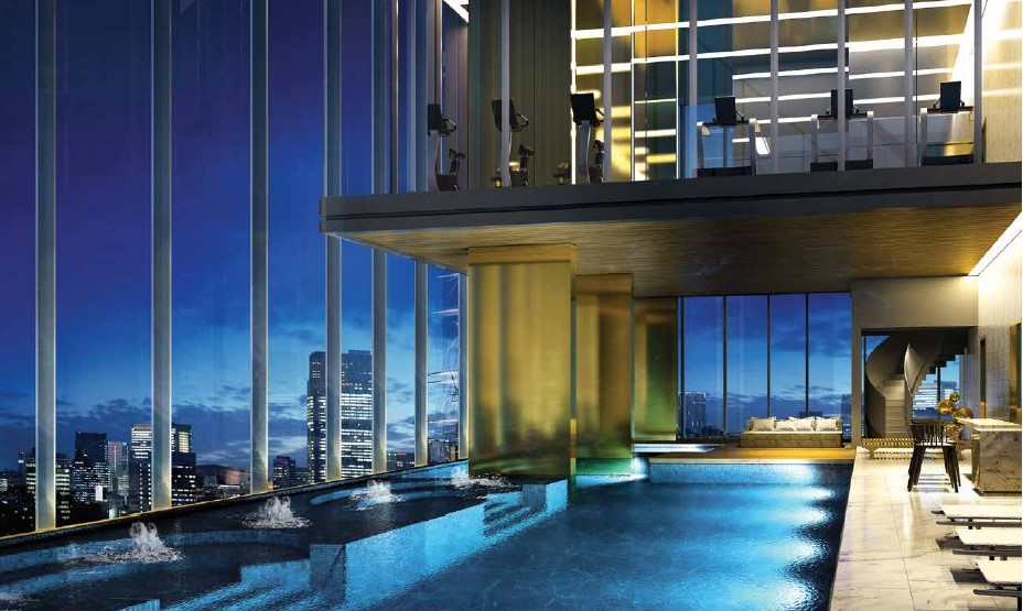 Ariva Hyde 11 Serviced Residences - Pool Perspective