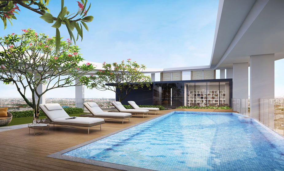 Ariva Metrosky Prachachuen Serviced Residences - Rooftop Pool